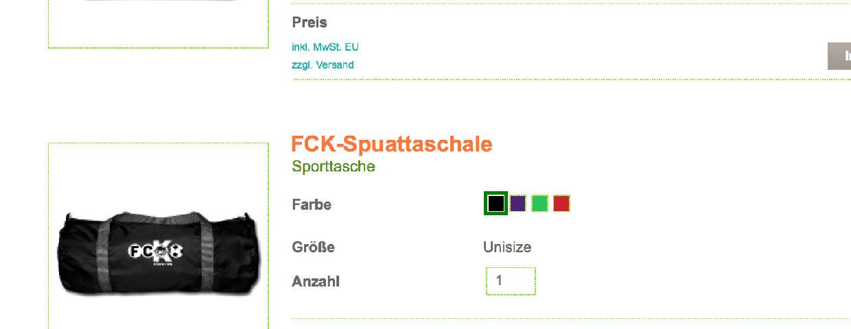 Neuer FCK-Fanshop